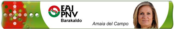 Amaia del Campo, Barakaldo, EAJ-PNV